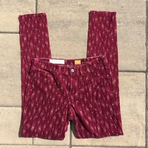 Anthro Pilcro and the Letterpress Corduroy Pants